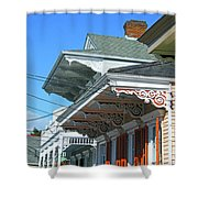 New Orleans Home Uptown Shower Curtain