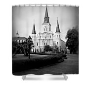 New Orleans Landmark Shower Curtain