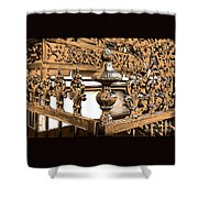 New Orleans Story Shower Curtain