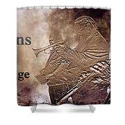 New Orleans The Jazz Age Shower Curtain