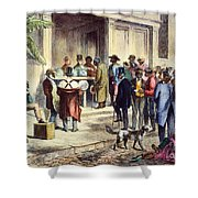 New Orleans: Voting, 1867 Shower Curtain