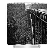 New River Gorge Bridge Fayetteville West Virginia Shower Curtain