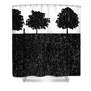 New Stoneage Shower Curtain