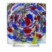 New Universe Shower Curtain