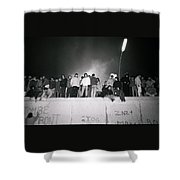New Year At The Berlin Wall Shower Curtain