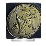 New York 2001 Shower Curtain