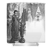 New York: Artist, 1882 Shower Curtain
