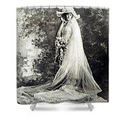 New York: Bride, 1920 Shower Curtain