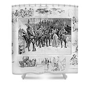 New York: Camp Wikoff, 1898 Shower Curtain