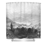 New York: Catskills, 1839 Shower Curtain