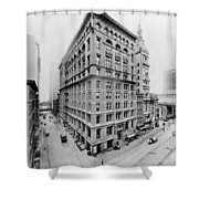New York City - Western Union Telegraph Building Shower Curtain