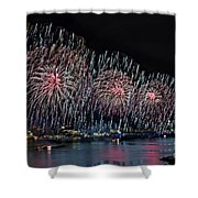 New York City Celebrates The 4th Shower Curtain