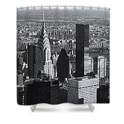 New York City Esb View II Shower Curtain
