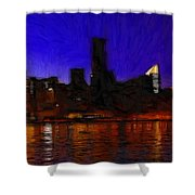 New York Colors Shower Curtain