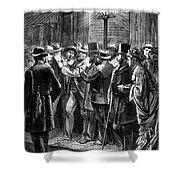 New York: Election, 1876 Shower Curtain