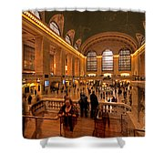 New York Grand Central Shower Curtain
