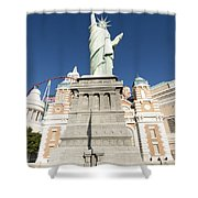 New York Hotel Shower Curtain