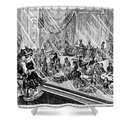 New York: Macys, 1876 Shower Curtain by Granger