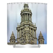 New York Municipal Building Shower Curtain