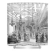New York: Opera House Shower Curtain