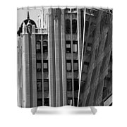 New York Reflections 1 Shower Curtain
