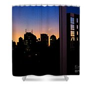 New York Reflections Shower Curtain