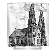 New York: St. Georges Shower Curtain