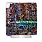 New York Street Shower Curtain