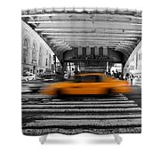 New York Taxi 1 Shower Curtain
