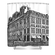 New York: Theater, 1869 Shower Curtain
