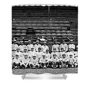 New York Yankees, C1921 Shower Curtain