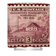 Newburgh Ny Postage Stamp Shower Curtain