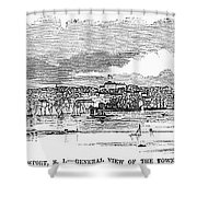 Newport, 1853 Shower Curtain