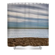 Newport Beach Shower Curtain