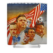 Nfl Hall Of Fame 1984 Game Day Cover Shower Curtain