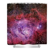 Ngc 6523, The Lagoon Nebula Shower Curtain