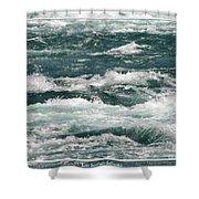 Niagara River Rapids 2 Shower Curtain