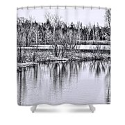 Nice Day For A Hike Shower Curtain