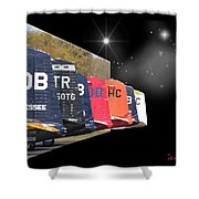 Nice Tails - Oob Shower Curtain