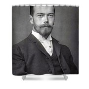 Nicholas II From Russia Shower Curtain