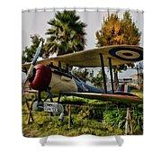 Nieuport 28 Shower Curtain