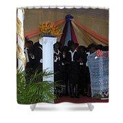 Nigerian Church Choir Shower Curtain