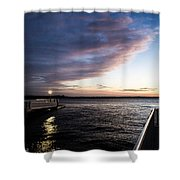 Night And Day 2 Shower Curtain
