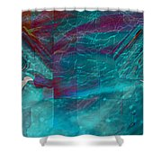 Night Birds Shower Curtain