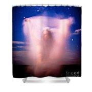 Night Ghost Shower Curtain