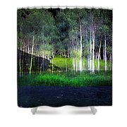 Night Magic I Shower Curtain