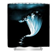 Night Of The Whirlwind Shower Curtain