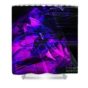 Night Rider . Square . A120423.936.693 Shower Curtain