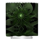 Night Secrets Of Rivers Shower Curtain