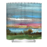 Nightfall 27 Shower Curtain